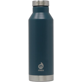MIZU V6 Botella con Aislamiento con Tapa Acero Inoxidable 600ml, enduro midnight